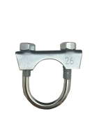 1301026 Exhaust clamp - universal - M8 -  26 mm  1301026