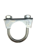1301030 Exhaust clamp - universal - M8 -  32 mm  1301030