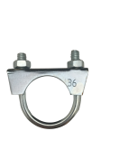 1301040 Exhaust clamp - universal - M8 -  36 mm  1301040