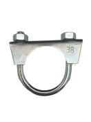 1301050 Exhaust clamp - universal - M8 -  38 mm  1301050
