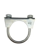 1301070 Exhaust clamp - universal - M8 -  42 mm  1301070
