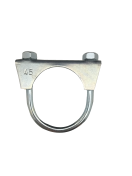 1301080 Exhaust clamp - universal - M8 -  45 mm  1301080