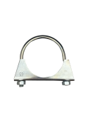 1301150 Exhaust clamp - universal - M8 -  65 mm  1301150