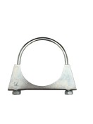 1301180 Exhaust clamp - universal - M8 -  76 mm  1301180