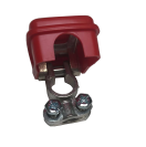 142031 Battery clamp (+) 50mm - quick release - red  142031