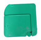 142200 Batterypole cap (+) green  142200