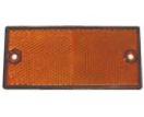 145022-P3 Reflector - 105x48mm - orange - 2 pieces - blister  145022-P3.jpg