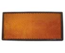 145031-P3 Reflector - 105x48mm - orange/self adhesive - 2 pieces - blister  145031-P3.jpg