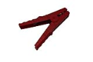 150091-TR Battery plier 500a - isolated - R  Geisoleerde batterijtang 500a rood