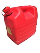167027 Jerrycan fuel - 20L - red  167027