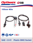 252-008 Standard BIKE contact - with battery cable Standard BIKE contact - with battery cable