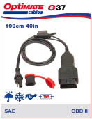 252-037 Adapter-cable - SAE to OBDII Adapter-cable - SAE to OBDII