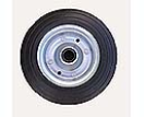 B301540 Spare wheel metal rim solid rubber tyre 200x50mm.  B301540.jpg