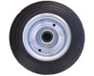 B301541 Spare wheel metal rim solid rubber tyre 200x60mm.  B301541.jpg