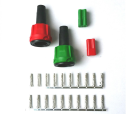 B303551-CON Connection set connector green/red Radex Connection set - Radex - green/red B303551-CON