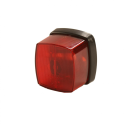B303704 Radex 912 - front position light - 12V - 66x62mm - red Front marker light - Radex 912 - 66x62mm - 12V - red 303704