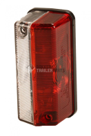 B303712 Front position light - 90x42x45 - red/white Front marker light - Radex - 90x42x45mm - red/white 303712