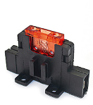 IM-H1180 Fuse holder - Normoto - 6.3mm horizontal in-line tab  IM-H1180