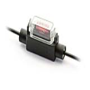 IM-H7325 Fuse holder - Minioto - 1.5mm² - black - with cover  IM-H7325