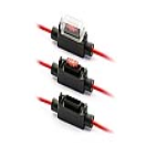 IM-H7335 Fuse holder - Minioto - 2.5mm² - red - with cover  IM-H7335