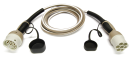 IN616125 EV Charging cable | Type 2 | 1 Phase | 16a | 5m <b>JAZZY2GO Mode 3 charging cable in spiral shape 4 to 8 meters.