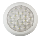 L22758CK-W LED (21) - interior light - round - 155mm - 12/24v Led - 420 lumen - interior light - round - 155mm - 12/24V l26758