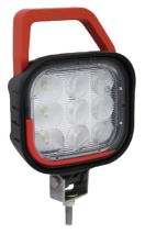 L22842N Worklamp - 9LED - 12-36v - wider ill. - 2160 lumen - ip69k + handle&switch Worklight - led - 2160 lumen - 12-36V - ip69k - handle and switch