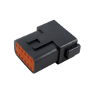 LD-DT04-12P Deutsch DT connector - 12 poles - M Deutsch DT connector - 12 poles - M DT04-12PA