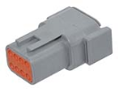 LD-DTM04-08PA Deutsch DTM connector - grey - key A - 8 poles - M  LD-DTM04-08PA