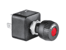 ME253200 Merit rotary switch round, red illuminated, O-I-II Merit rotary switch round, red illuminated, O-I-II