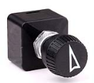 ME259000 Merit rotary switch round, O-I-II-III, symbol arrow Merit rotary switch round, O-I-II-III, symbol arrow