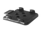 N00301Z Holder for plastic wheel block black  N00301Z.jpg