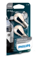P14496SV Philips PY21W - 12V - 21W - BAU15s - SilverVision - blister 2 pieces  P14496SV