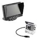 "PA-PS026C10W 7"" Monitor With Heavy Duty Camera WHITE  PA-PS026C10W"