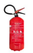 R101366A Fire extinguisher - 9kg - ABC - manometer - buildings  Brandblusser