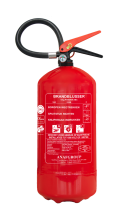 R301380 Fire extinguisher - 9kg - ABC - Netherlands - A  R301380