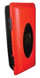 RF00940 Protective box for extinguisher - 6+9kg manometer and 6kg pressure cartridge  RF00940