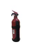 RF201305A Tension belt PVC fire extinguisher 1kg  Spanband
