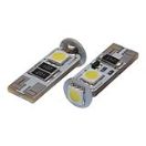 SF93534144 Bulb - 12V - 3Xsmd 5050 - Led - T10 - White Double Polarity Canbus - 2 pieces  SF93534144